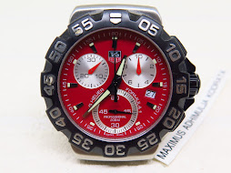 TAG HEUER FORMULA1 CHRONOGRAPH RED DIAL