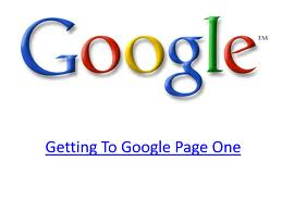 Teknik SEO One Page Blogspot