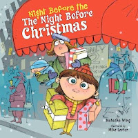 bookcover of THE NIGHT BEFORE THE NIGHT BEFORE CHRISTMAS by Natasha Wing