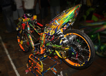 yamaha mio racing look modif
