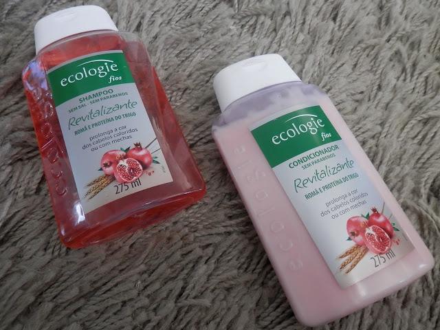 Review: Shampoo e condicionador Revitalizante da Ecologie