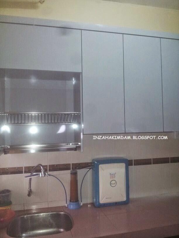 Kitchen Cabinet flat impian emas