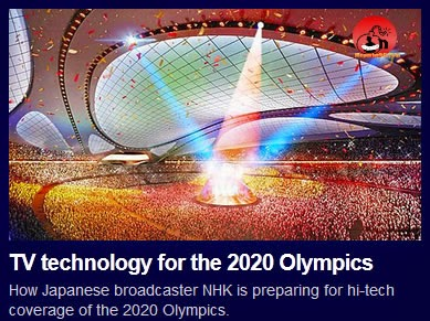 News: TV technology for the 2020 Olympics