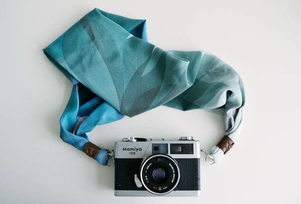 DSLR Silk Scarf Camera Strap by little miss gee