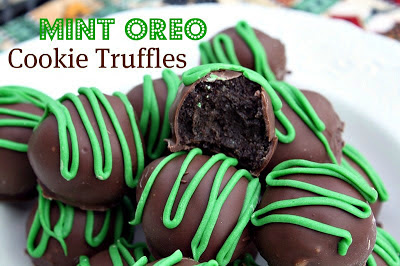St Patrick's Day treats recipe: Mint Oreo Cookie Truffles