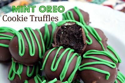 St Patrick's Day treats recipe: Mint Oreo Cookie Truffles