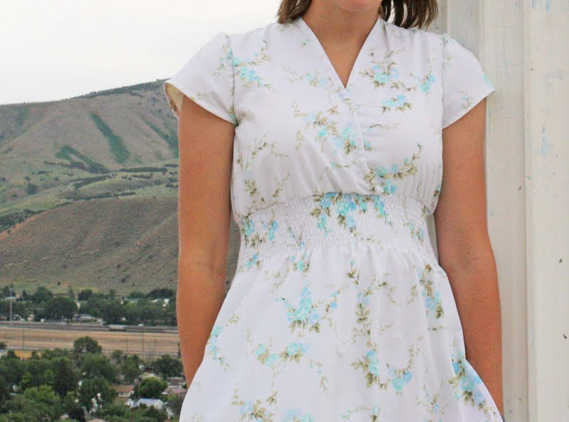 Running With Scissors: Maxi Sheet Dress Sewing Pattern