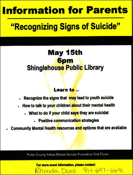 5-15 Recognizing Signs of Suicide