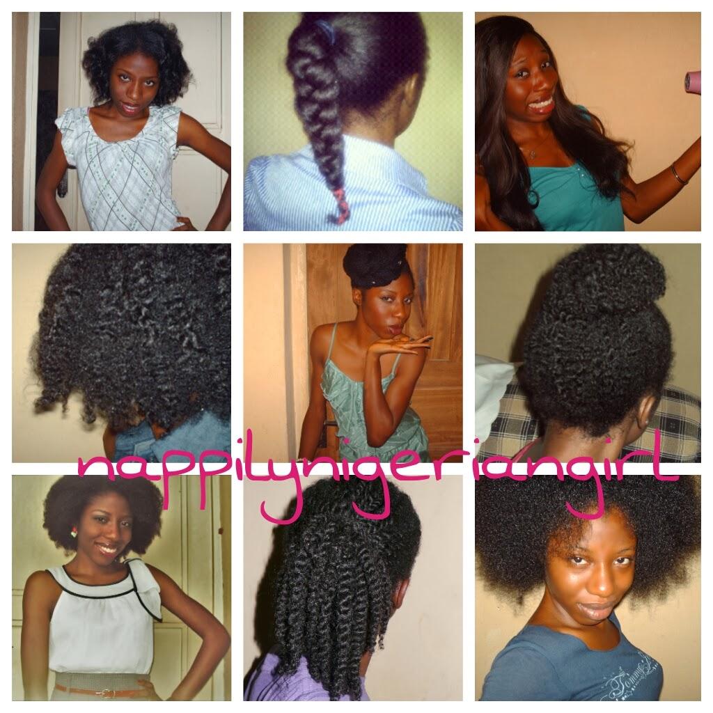 Natural Hair Style 2014 My Natural Nigerian Hair