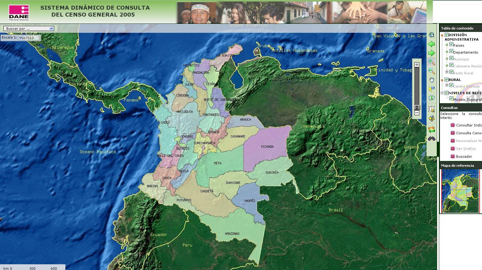 Mapa Satelital Colombia En Vivo