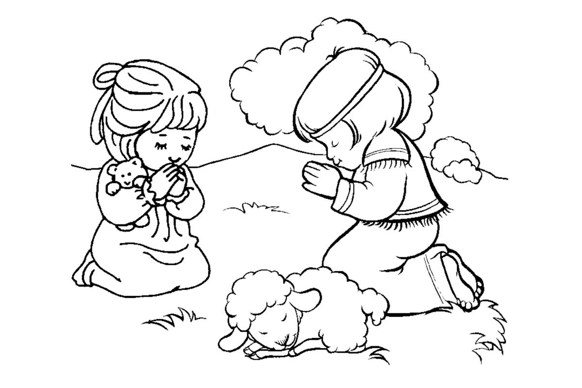 christian family coloring pages - photo#15