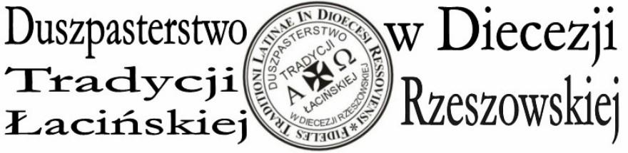 Duszpasterstwo Tradycji Łacińskiej w Diecezji Rzeszowskiej
