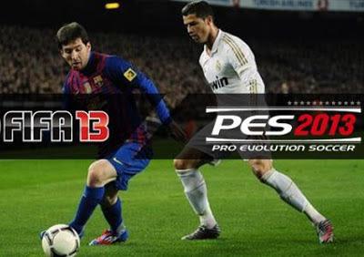 FIFA 2013 atau PES 2013, Lebih Bagus Mana ?