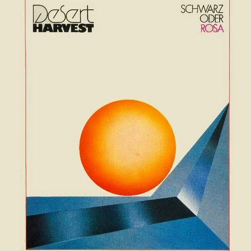 Ezhevika Fields Desert Harvest Schwarz Oder Rosa 1981