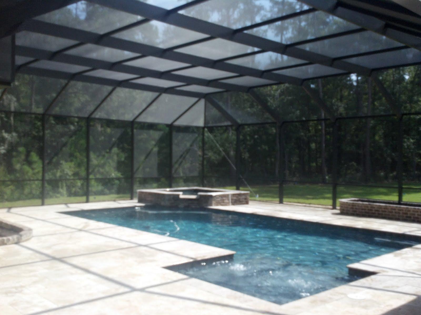 Pool enclosures usa custom pool enclosure for Pool design usa