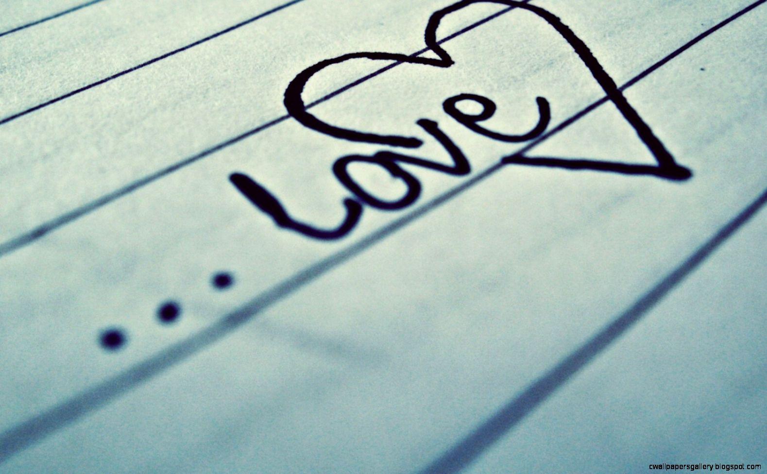 Gallery Word love