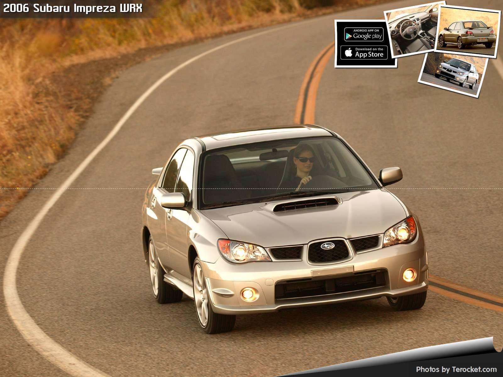 Hình ảnh xe ô tô Subaru Impreza WRX 2006 & nội ngoại thất