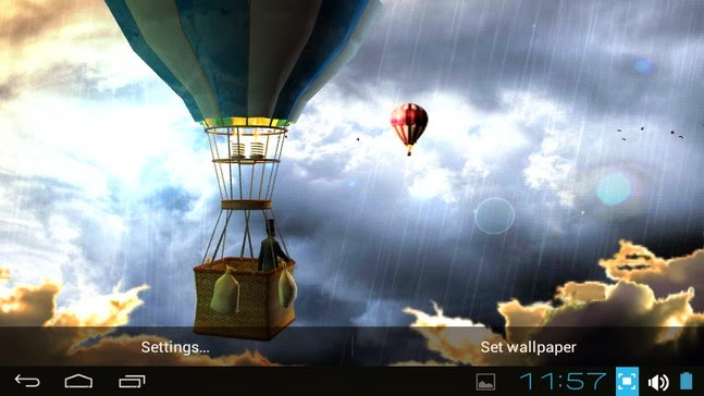 Hot Air Balloon 3d Wallpaper Apk Download