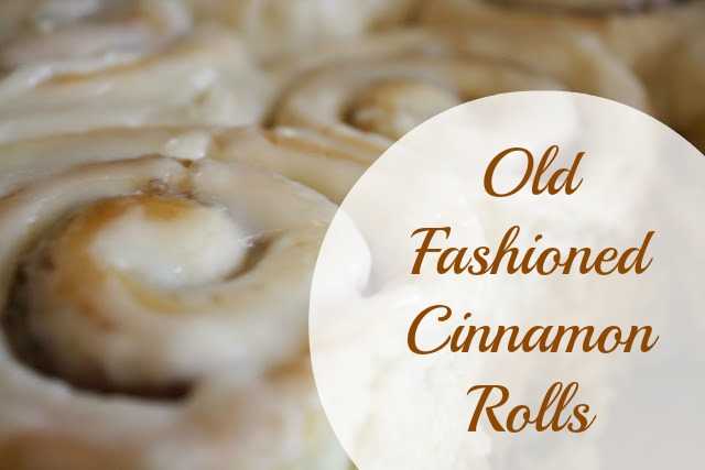 Pig and Dac: Old Fashioned Cinnamon Rolls