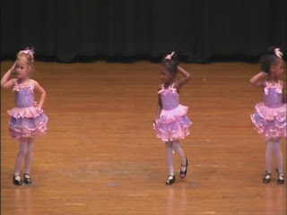 myers park dancing school recital program