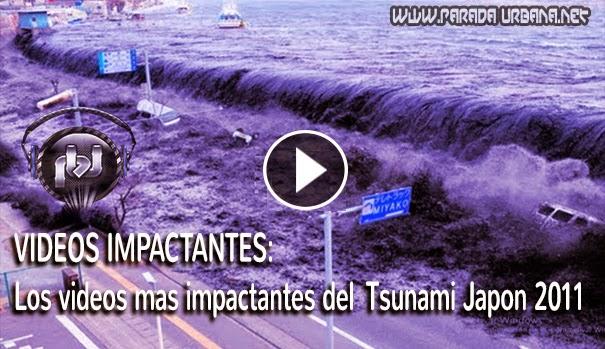 VIDEOS IMPACTANTES - Los Tsunami mas devastadores e impactantes  captada por camara
