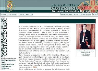 Silvio Berlusconi, el Vaticano y la Orden Constantina Costantino