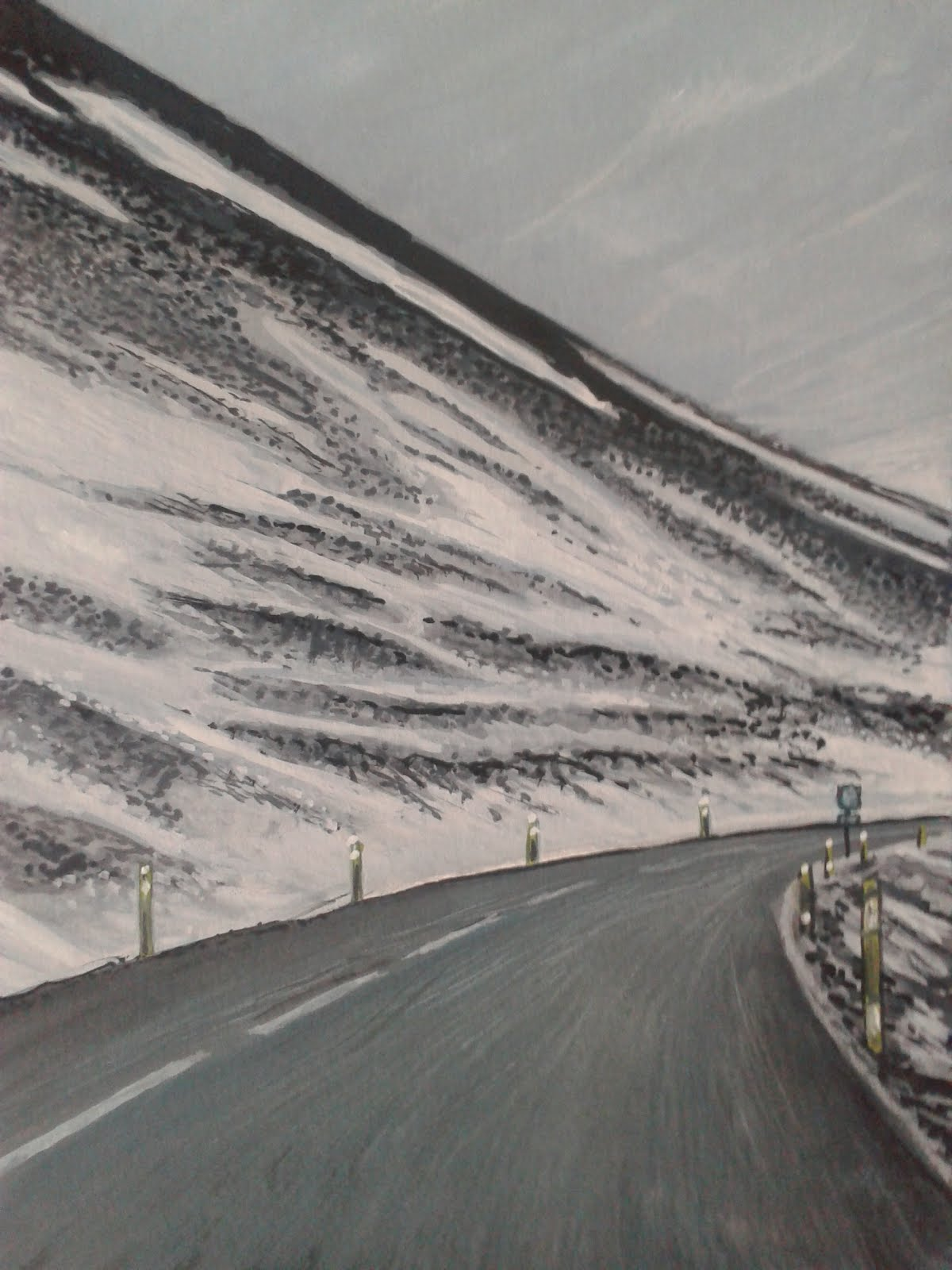 Sur la route/Islande 2016