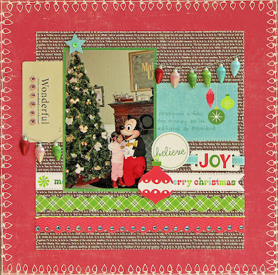 layout, scrapbooking, Disney