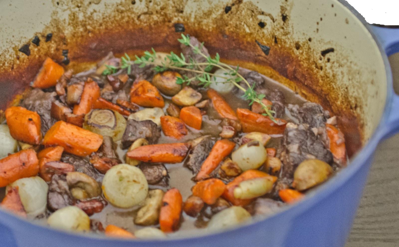 Navy Blue Kitchen: Braised Beef Stew with Red Wine