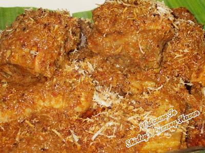 chicken rendang restoran atlantic 1 melaka