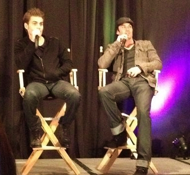 Nuevas fotos del Cast de The Vampire Diaries en  New Jersey Con-2012