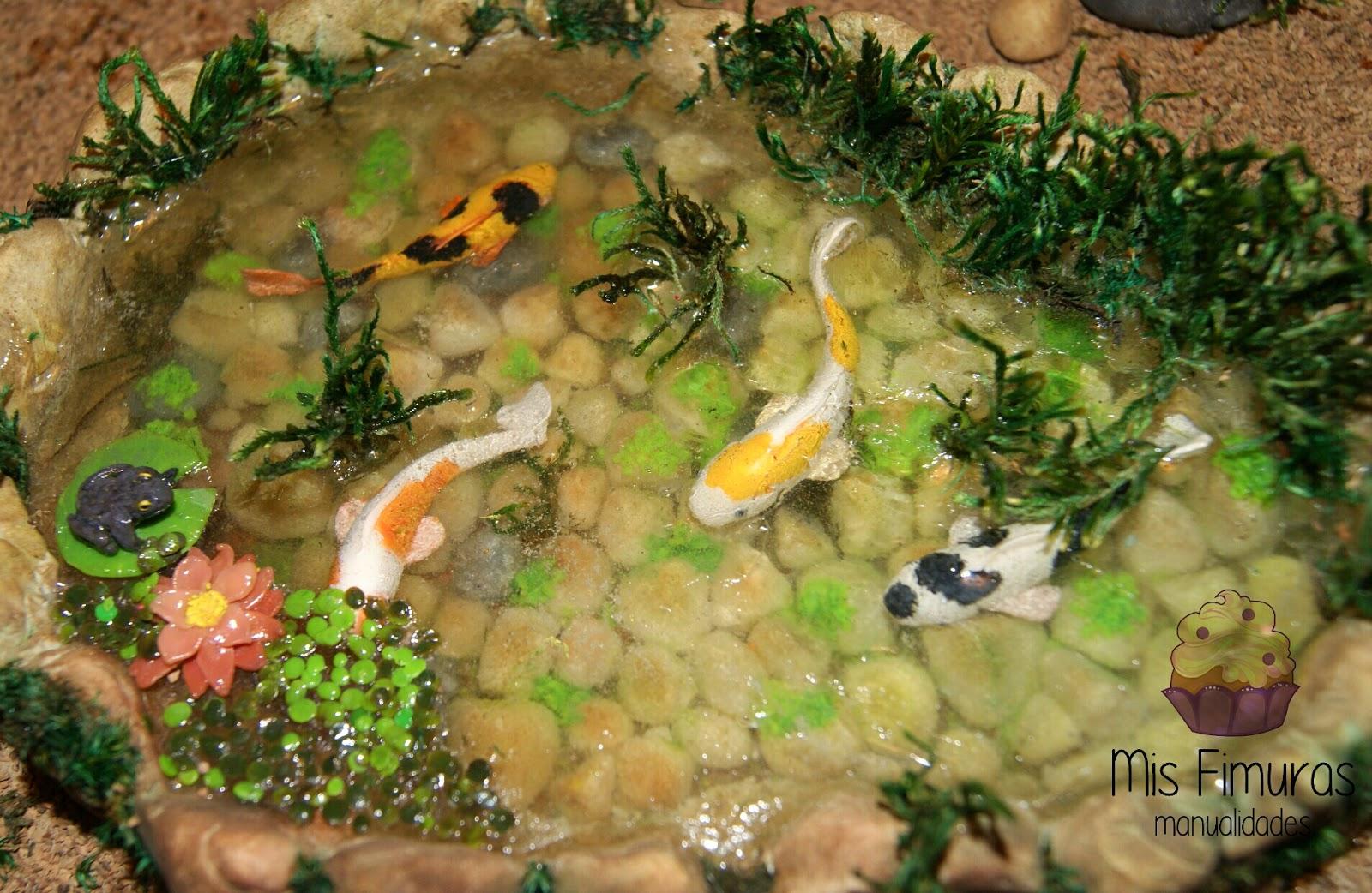 Mis fimuras estanque carpas koi for Carpas estanque