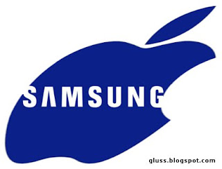 Logotipo de Samsung copiado de Apple