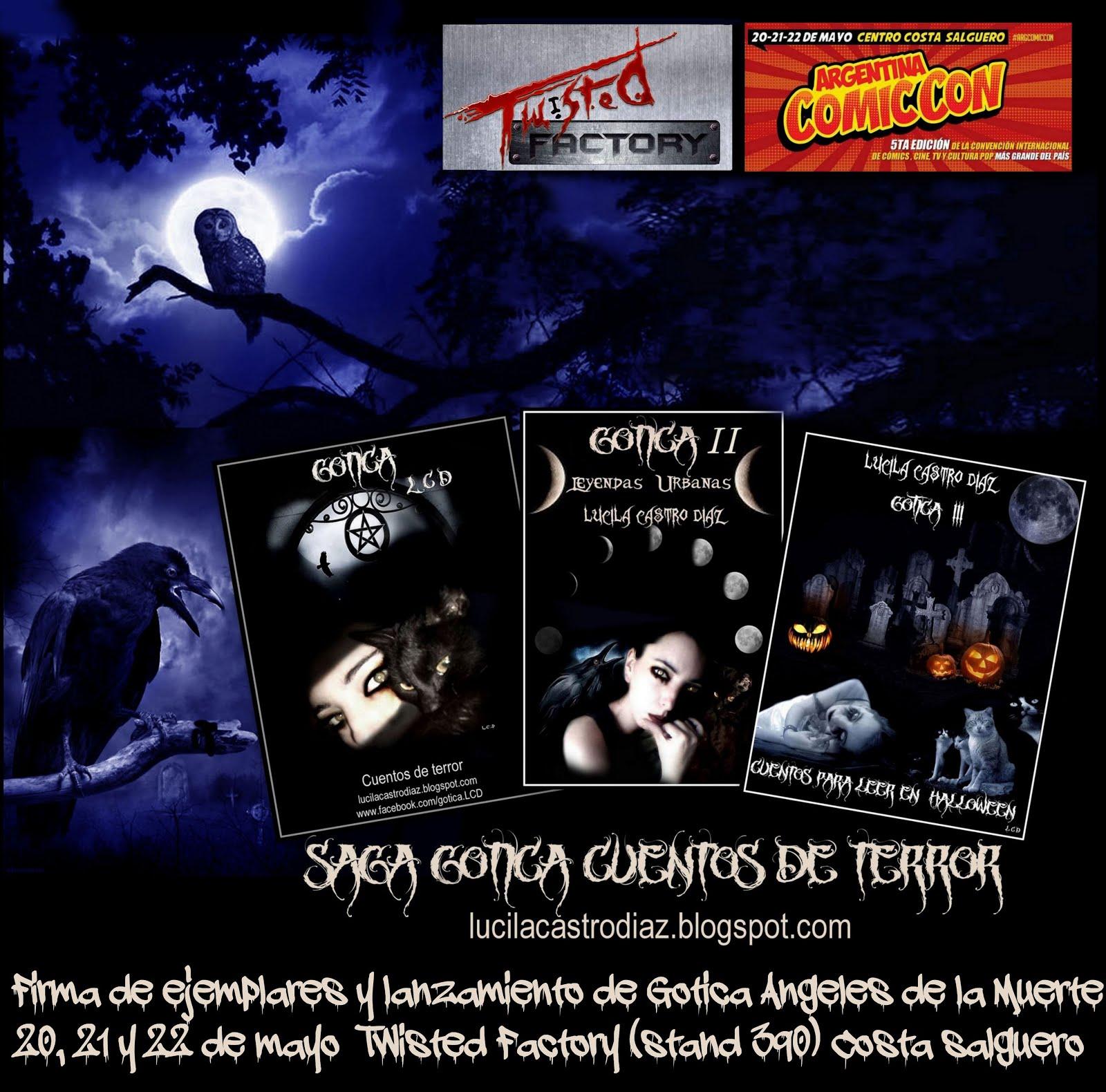 Gotica Presente en la Comic con Argentina 2016