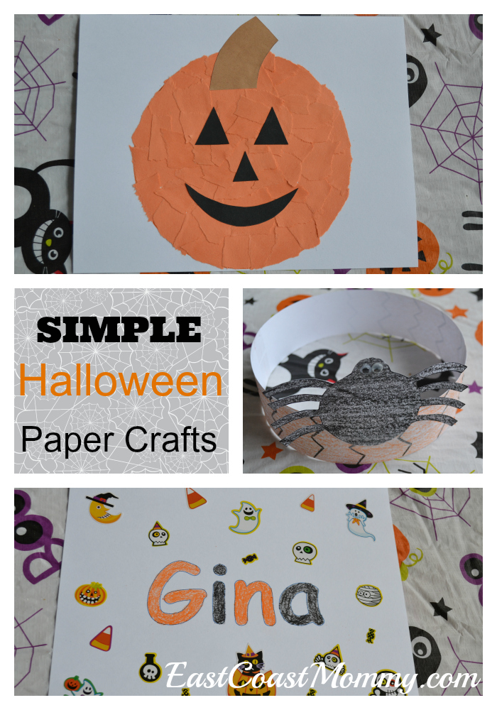 East Coast Mommy: Halloween Paper Crafts
