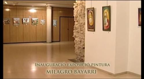 Vídeo exposición Milagro Bayarri, 2012