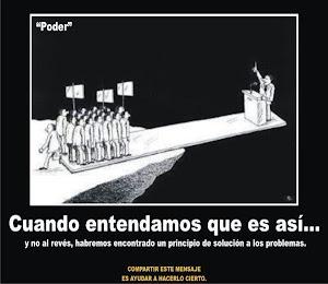 ACABEMOS CON EL PODER
