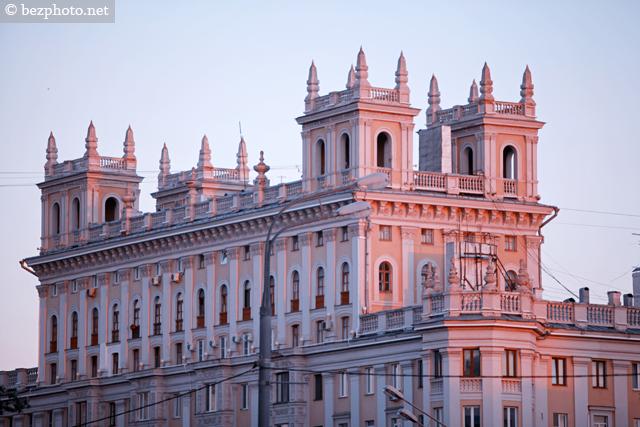 стиль сталинской архитектуры ампир