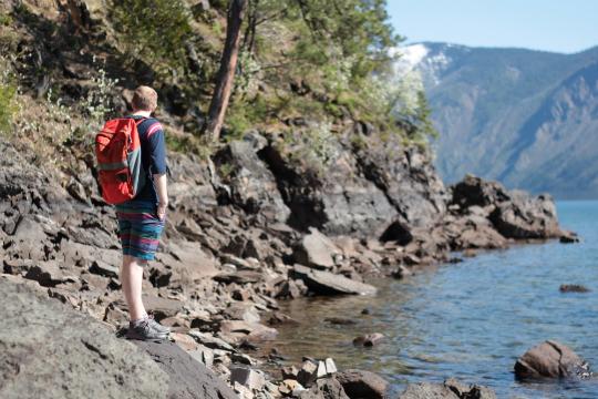 Mineral Point Trail beach campground