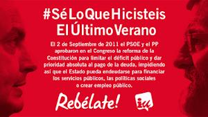 UN AÑO DEL PACTO ANTICONSTITUCIONAL DEL PP-PSOE