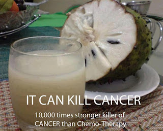 Soursop Fruit - Natural Cancer Killer (10,000 times stronger than Chemo) -