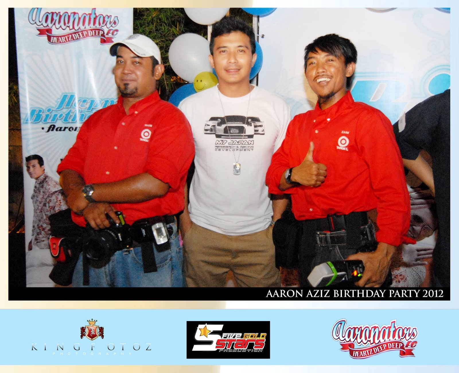 Aaron Aziz Birthday Party