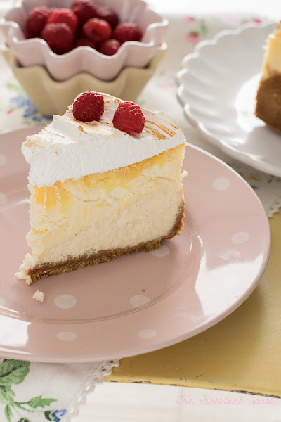 Cheesecake de limón y merengue