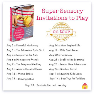 Super Sensory Invitations to Play Book Tour