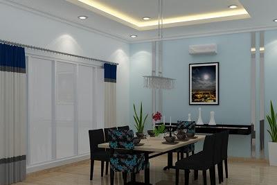 Jasa Desain Interior Ruang Makan dining room Minimalis Modern
