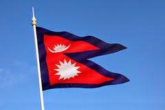 info vlag van Nepal