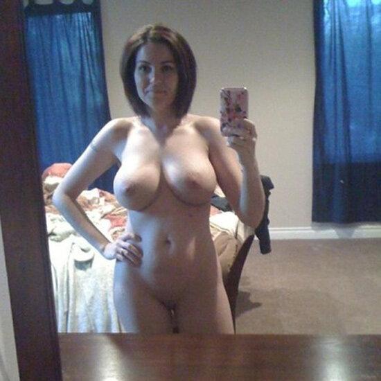 Two Lesbians Nude Selfies