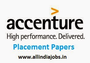 Accenture Placement Papers