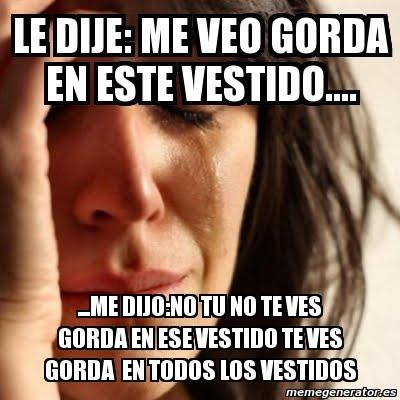 MEME GORDA