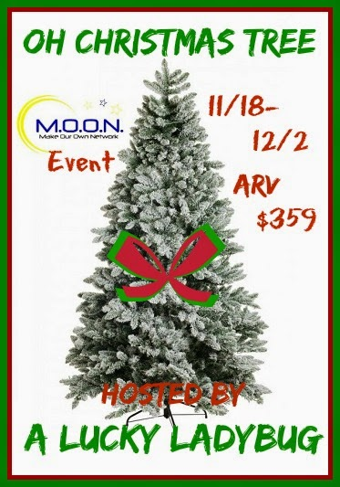 Enter the Oh Christmas Tree Giveaway. Ends 12/2